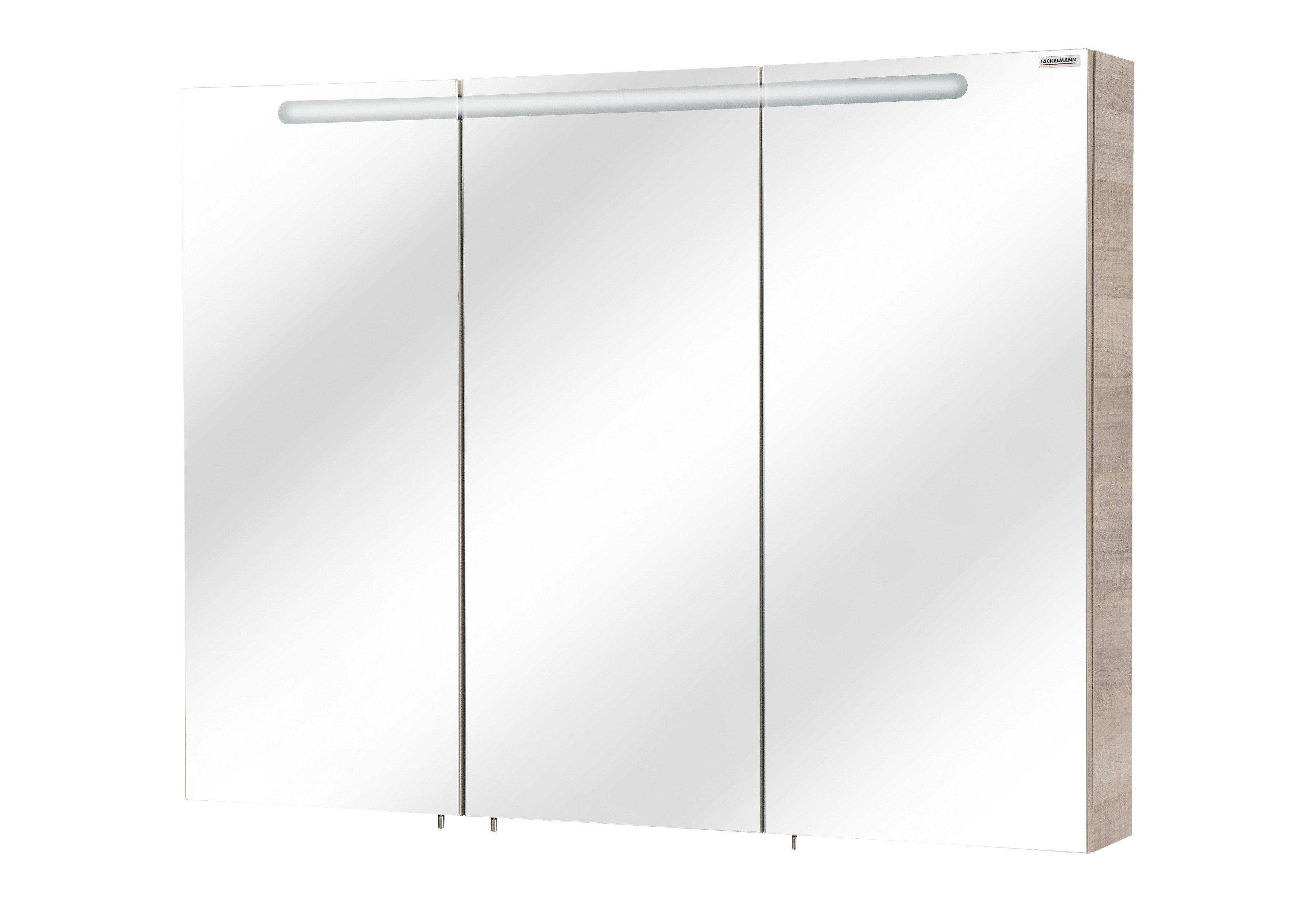 Fackelmann Spiegelschrank »A-Vero« Breite 105 cm, mit Beleuchtung