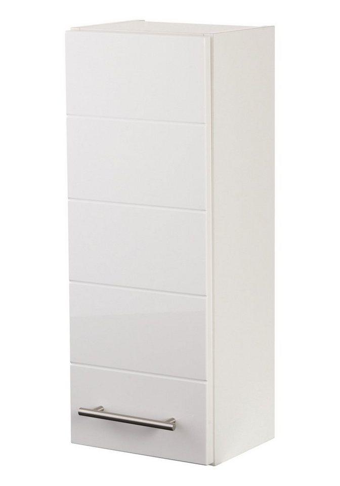 Hängeschrank »Porto«, Breite 25 cm in weiß/weiß