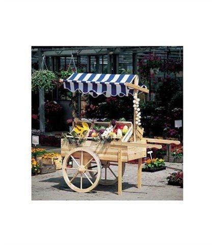 Marktwagen in natur
