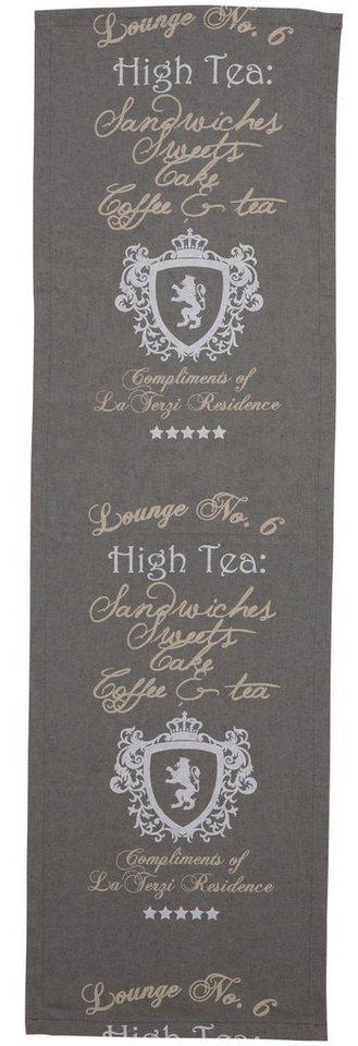 Go-De Tischläufer »High Tea« in grau