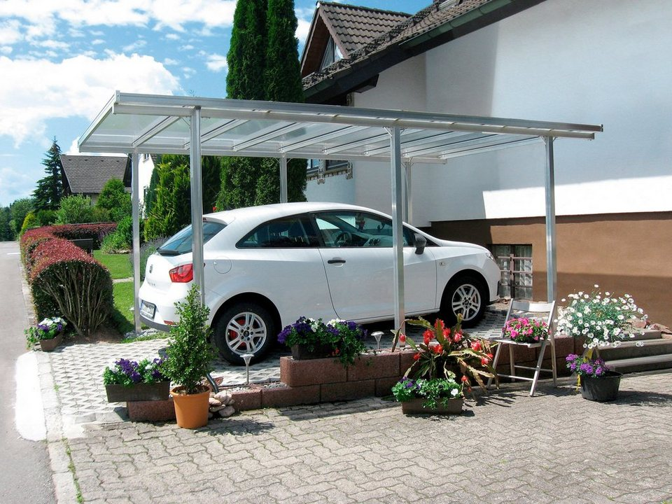 beckmann einzelcarport bxt 311x496 cm in 2 farben online kaufen otto. Black Bedroom Furniture Sets. Home Design Ideas