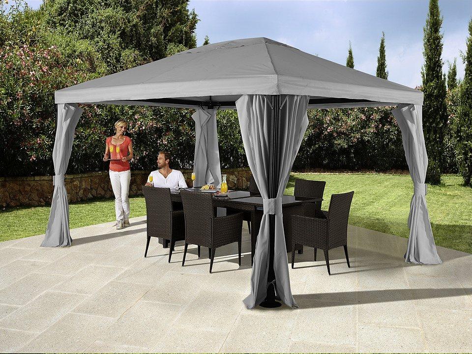 seitenteile f r pavillon roma hellgrau kaufen otto. Black Bedroom Furniture Sets. Home Design Ideas
