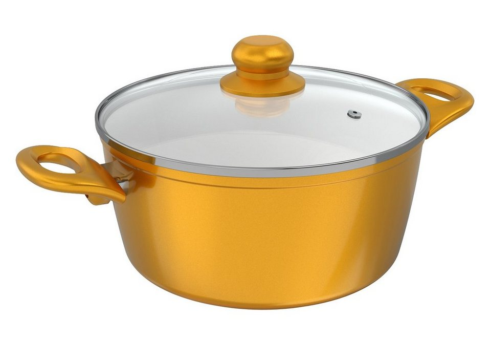 Cerafit®Gold Edtion - Kochtopf, Genius® in goldfarben