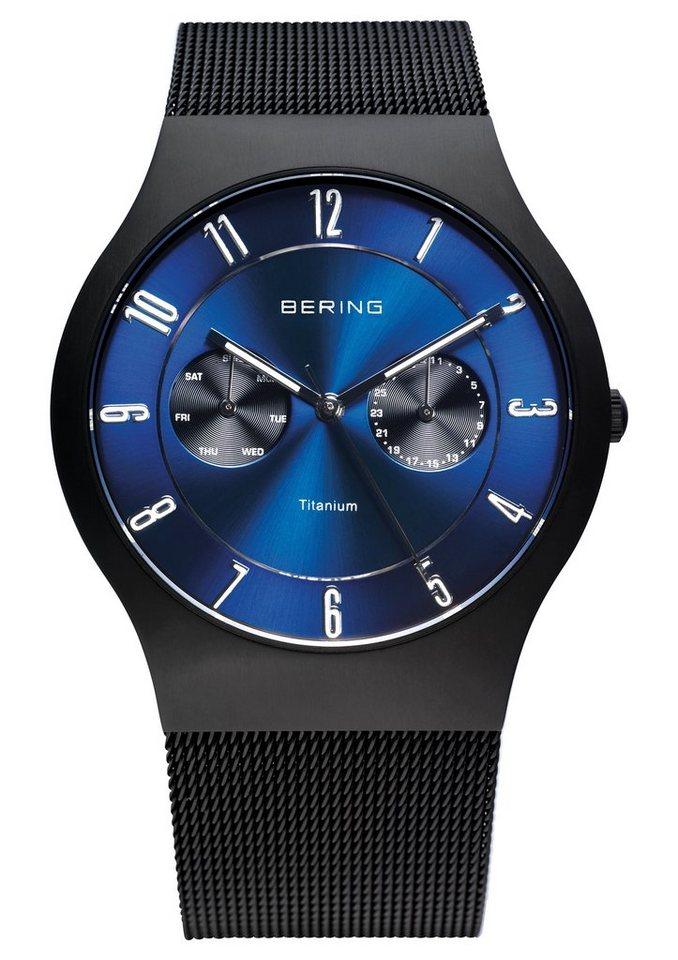 Bering Multifunktionsuhr »11939-078« in schwarz