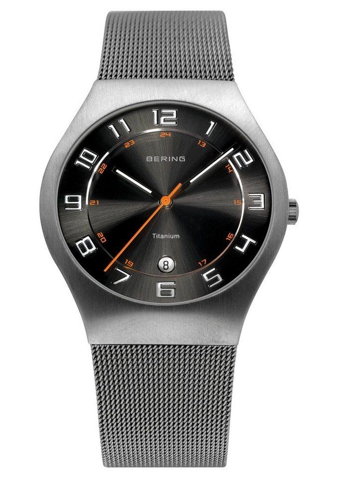 Bering Titanuhr »11937-007« | Uhren > Titanuhren | Grau | Bering