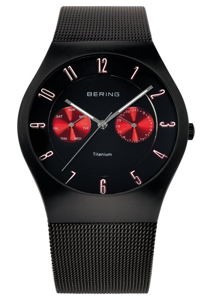 Bering Multifunktionsuhr »11939-229« in schwarz