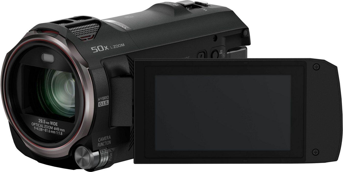Camcorder - Panasonic »HC V777« Camcorder (WLAN (Wi Fi), NFC, 20x opt. Zoom, 50x intelligenter Zoom, Wireless Twin Camera, USTREAM, Hybrid OIS)  - Onlineshop OTTO