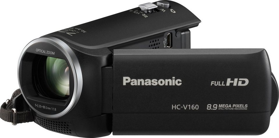 Panasonic HC-V160 Camcorder in schwarz