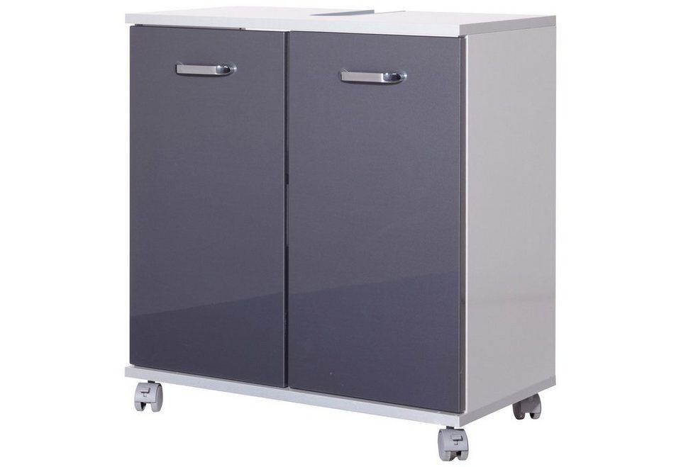 schildmeyer waschbeckenunterschrank dallas breite 60 cm online kaufen otto. Black Bedroom Furniture Sets. Home Design Ideas