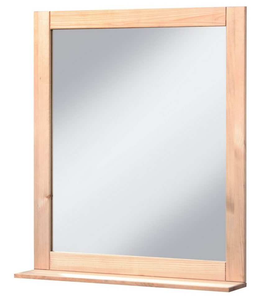 Spiegel »Amrum«, Breite 60 cm in gelaugt, geölt