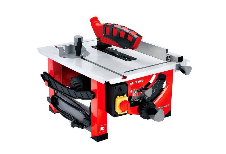 Tischkreissäge »RT-TS 920« in rot