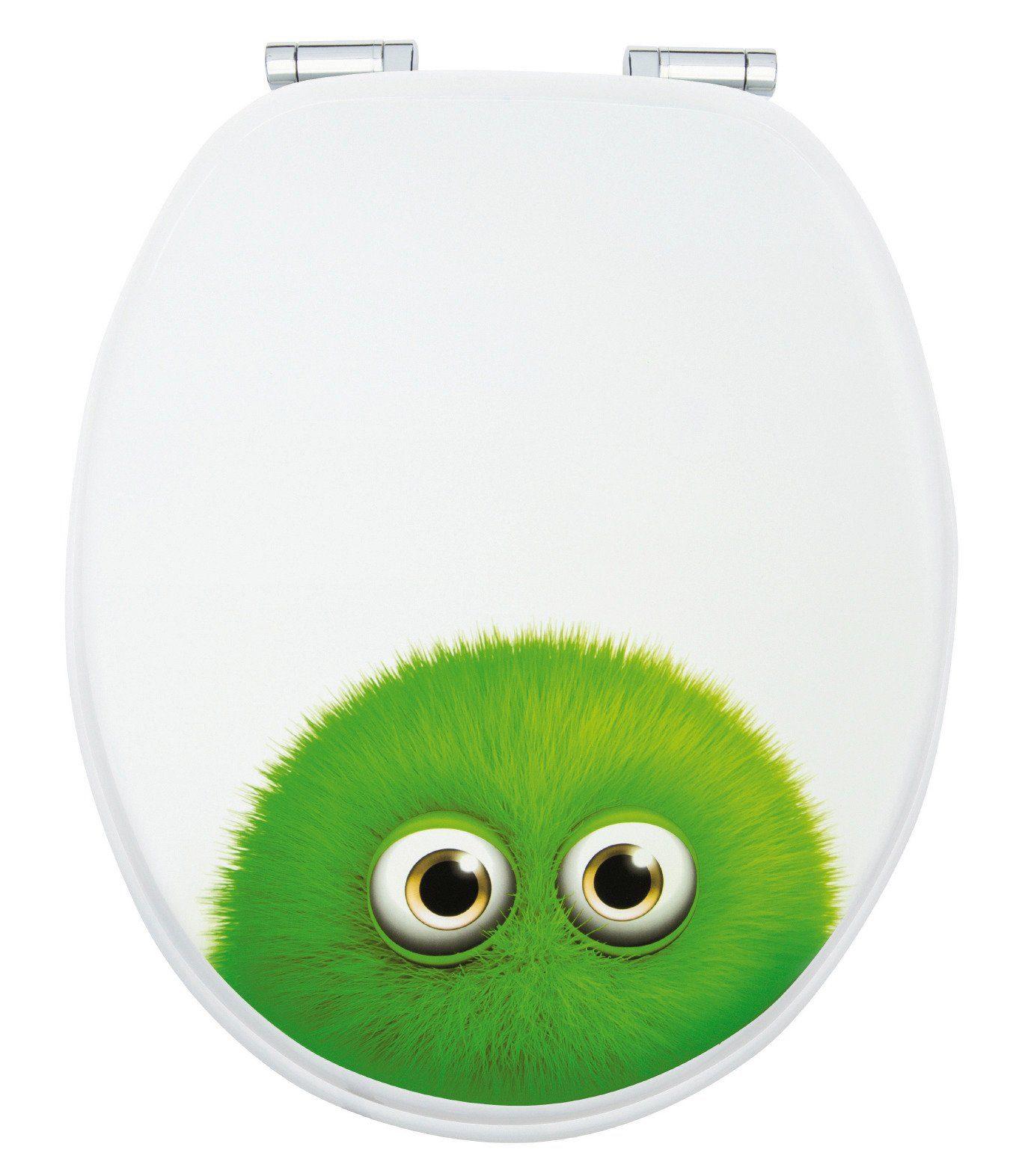 WC-Sitz »Monster Bobby«, Mit Absenkautomatik