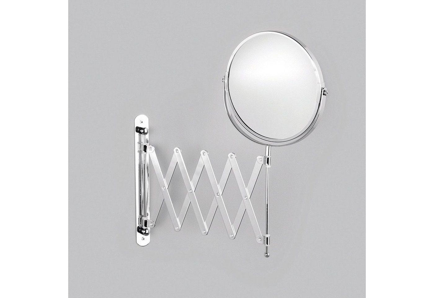 Zeller Spiegel / Kosmetikspiegel »3-fache Vergrößerung« Durchmesser 17 cm | Bad > Bad-Accessoires > Kosmetikspiegel | Zeller Present