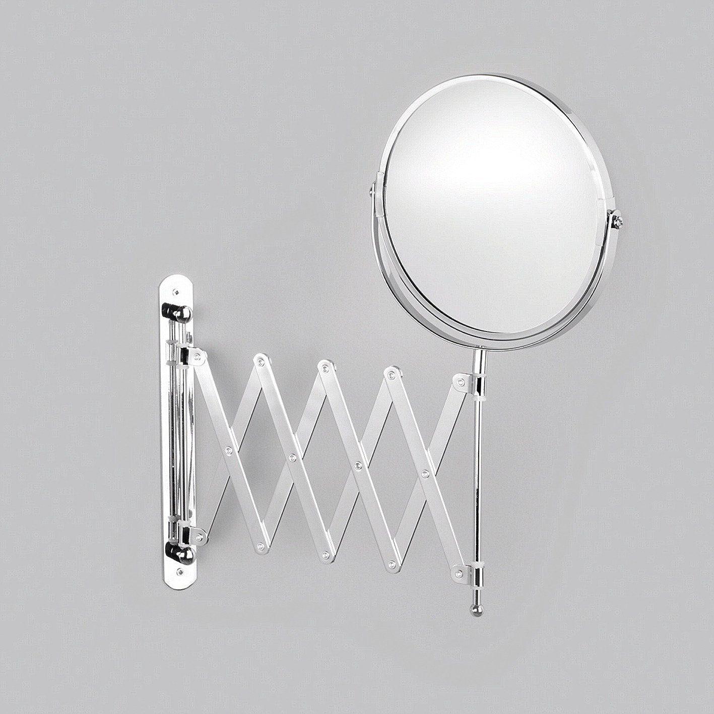 Spiegel / Kosmetikspiegel »3-fache Vergrößerung« Durchmesser 17 cm