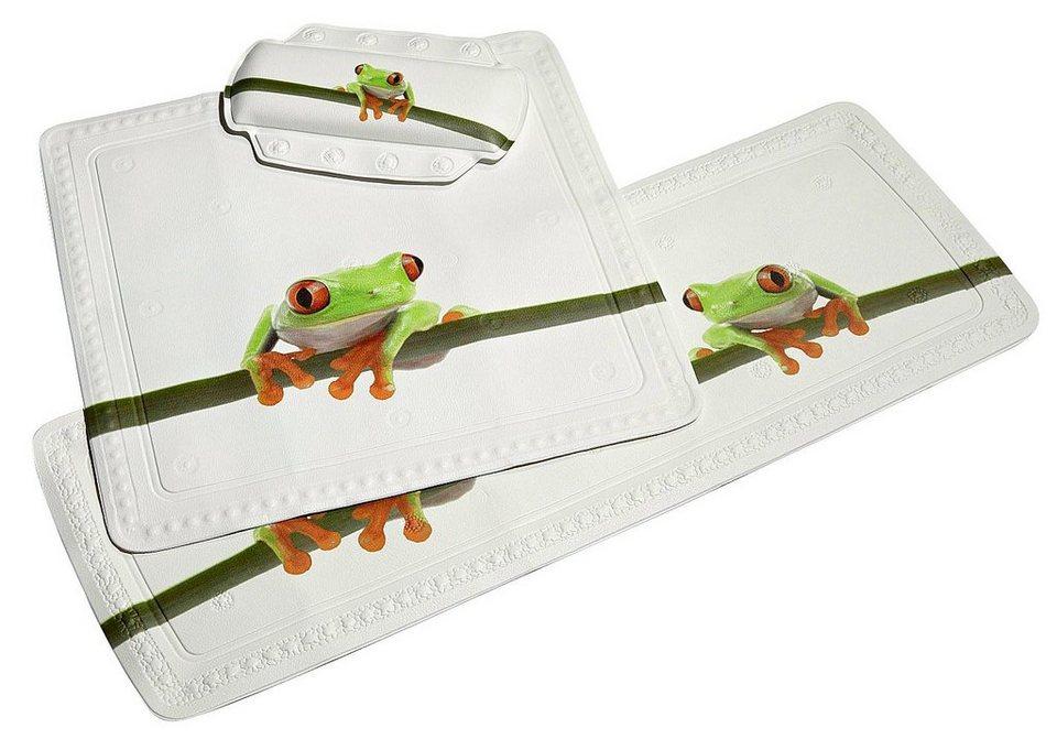 Wanneneinlage »Frog« in grün