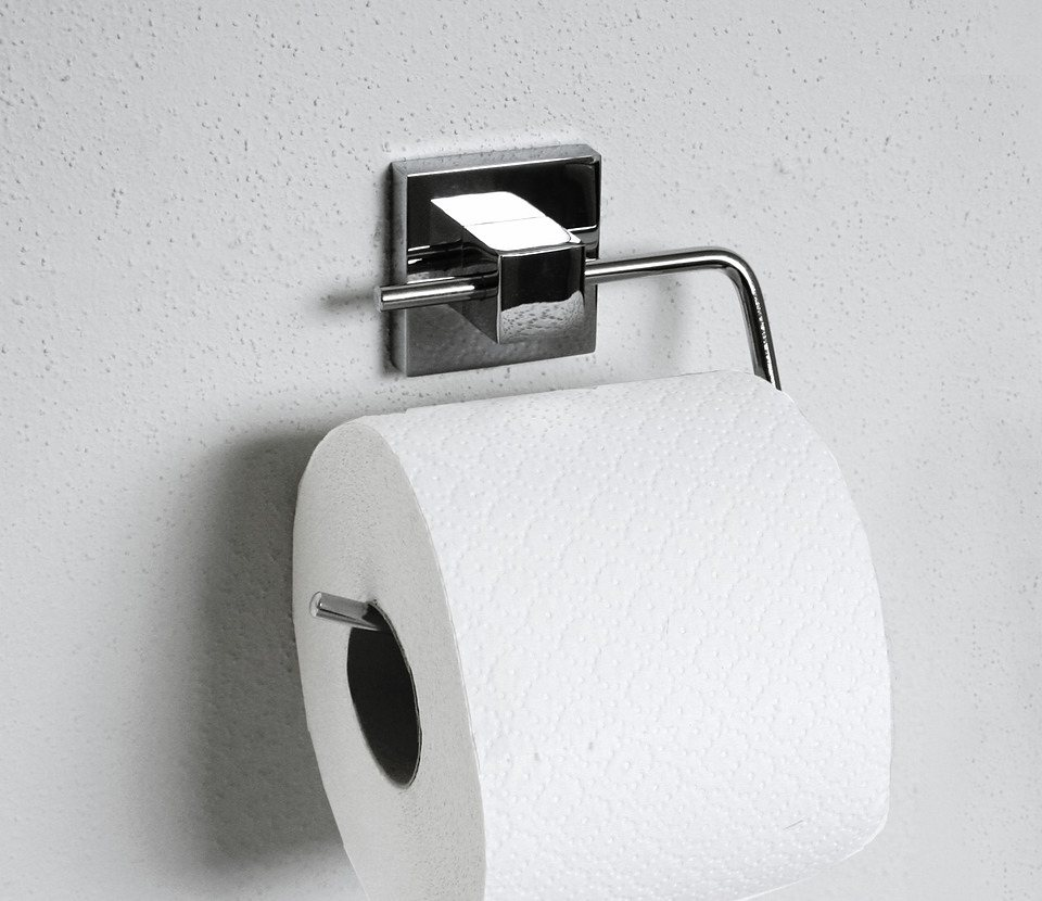 Toilettenpapierhalter »Mare« in silberfarben
