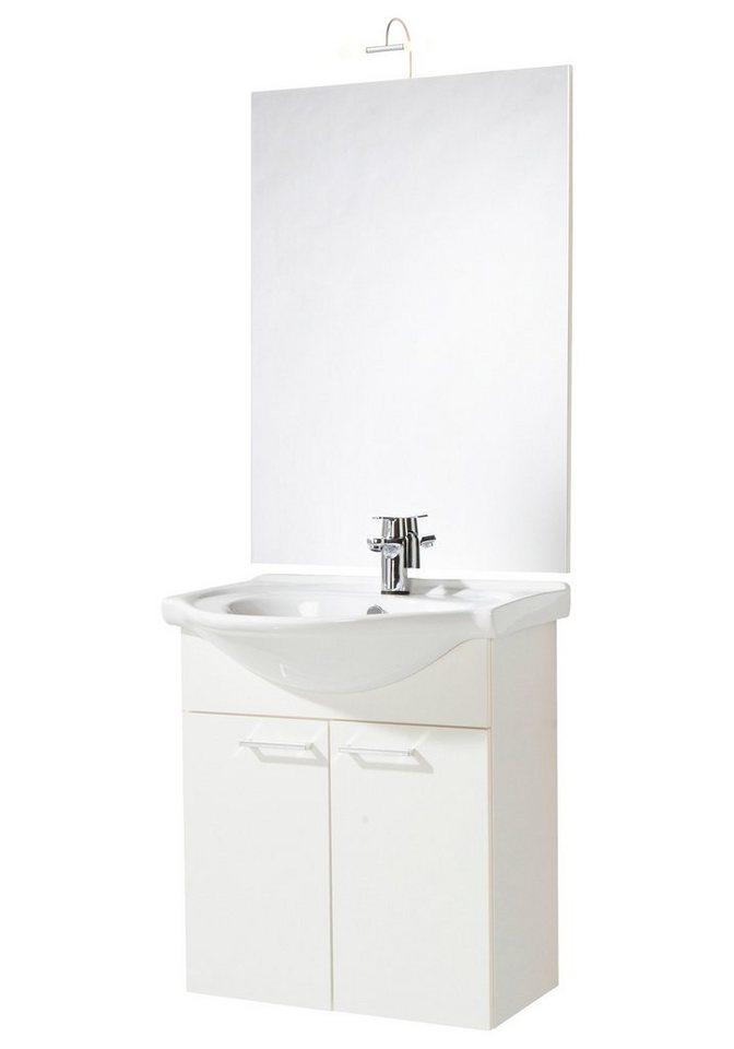 Badmöbel-Set »Barcelona«, Breite 66 cm in weiß