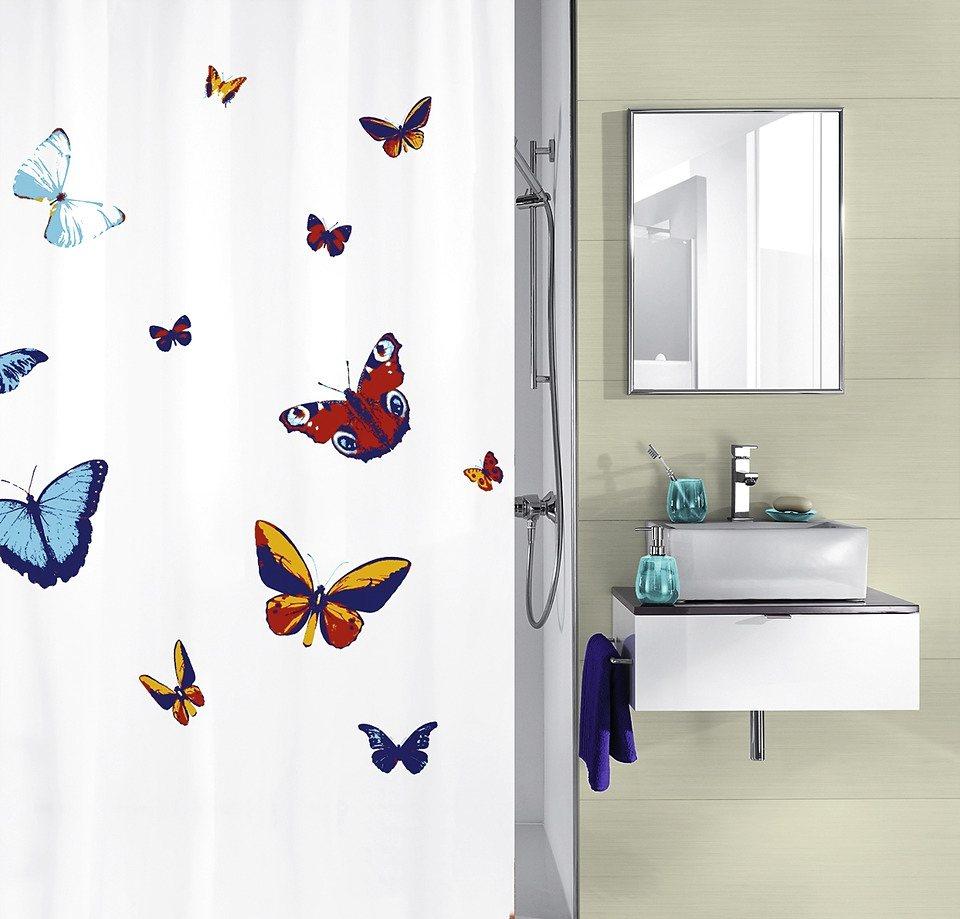 Duschvorhang »Butterfly« in bunt