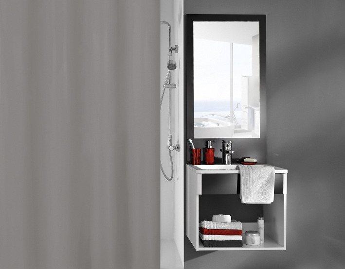 Duschvorhang »Vito« in grau