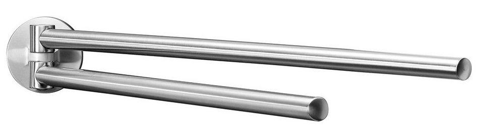 Fackelmann Doppelhandtuchhalter »Fusion« in silberfarben
