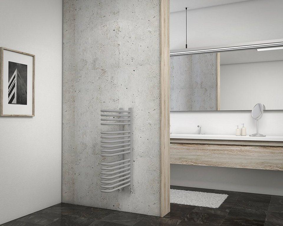 Designheizkörper »Porto« in grau