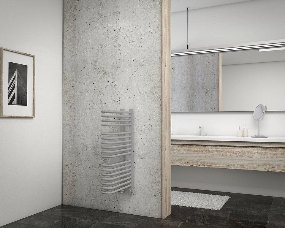 Schulte Designheizkörper »Porto« in grau