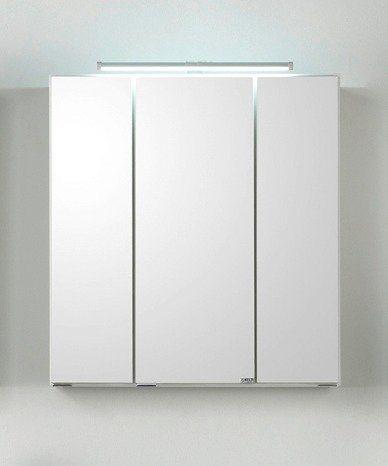 Spiegelschrank »Siena« Breite 80 cm, mit LED-Beleuchtung in weiß