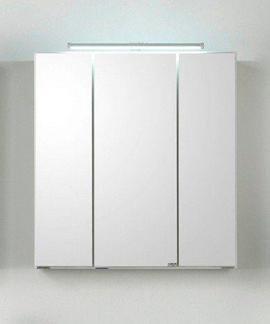 Spiegelschrank »Siena« Breite 80 cm, mit LED-Beleuchtung
