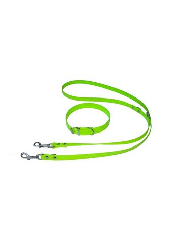 HEIM Šuns pavadėlis »Biothane -Set« grün