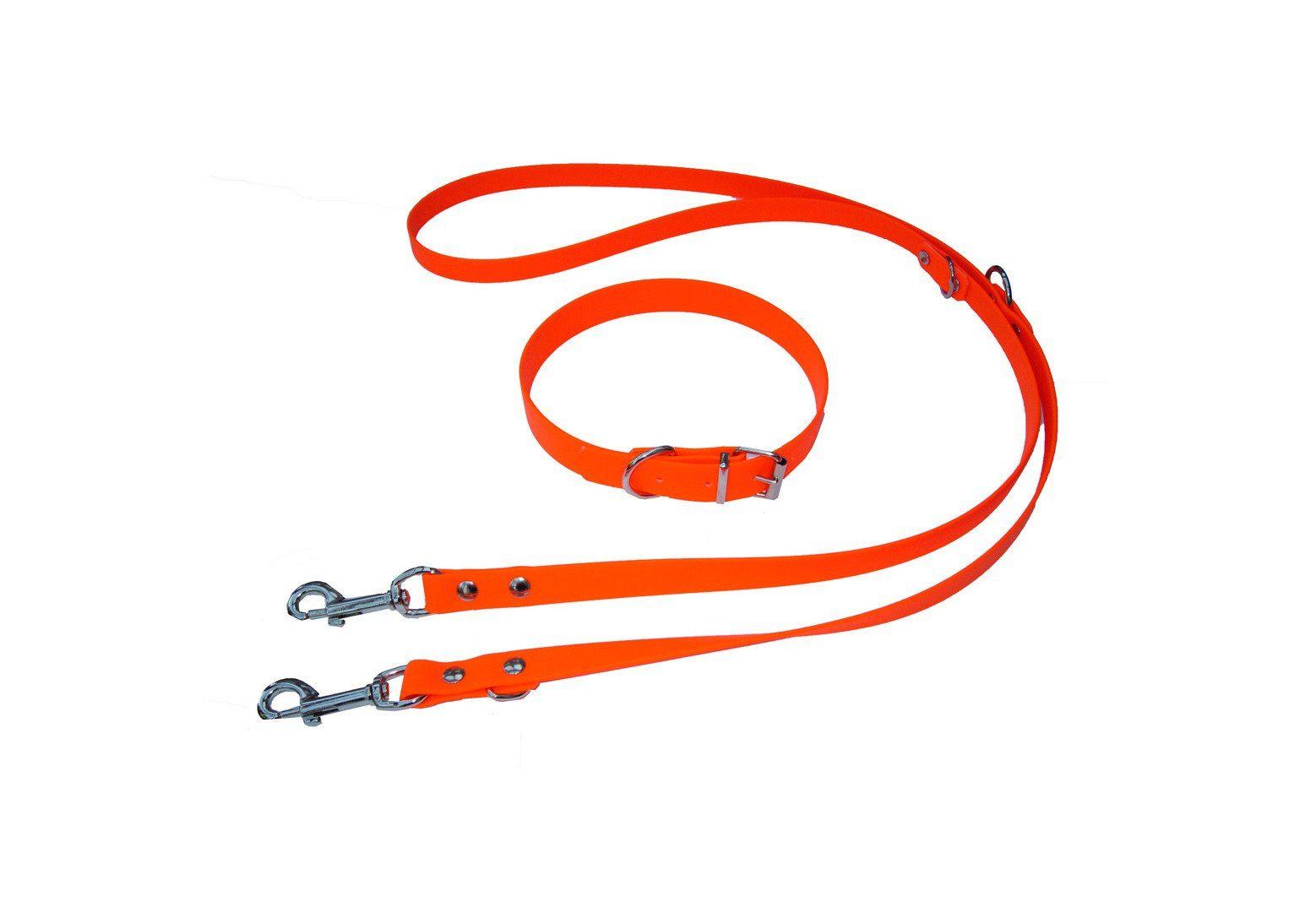 HEIM Set: Hundeleine »Biothane -Set«, Länge 200 cm, mit Halsband in versch. Längen