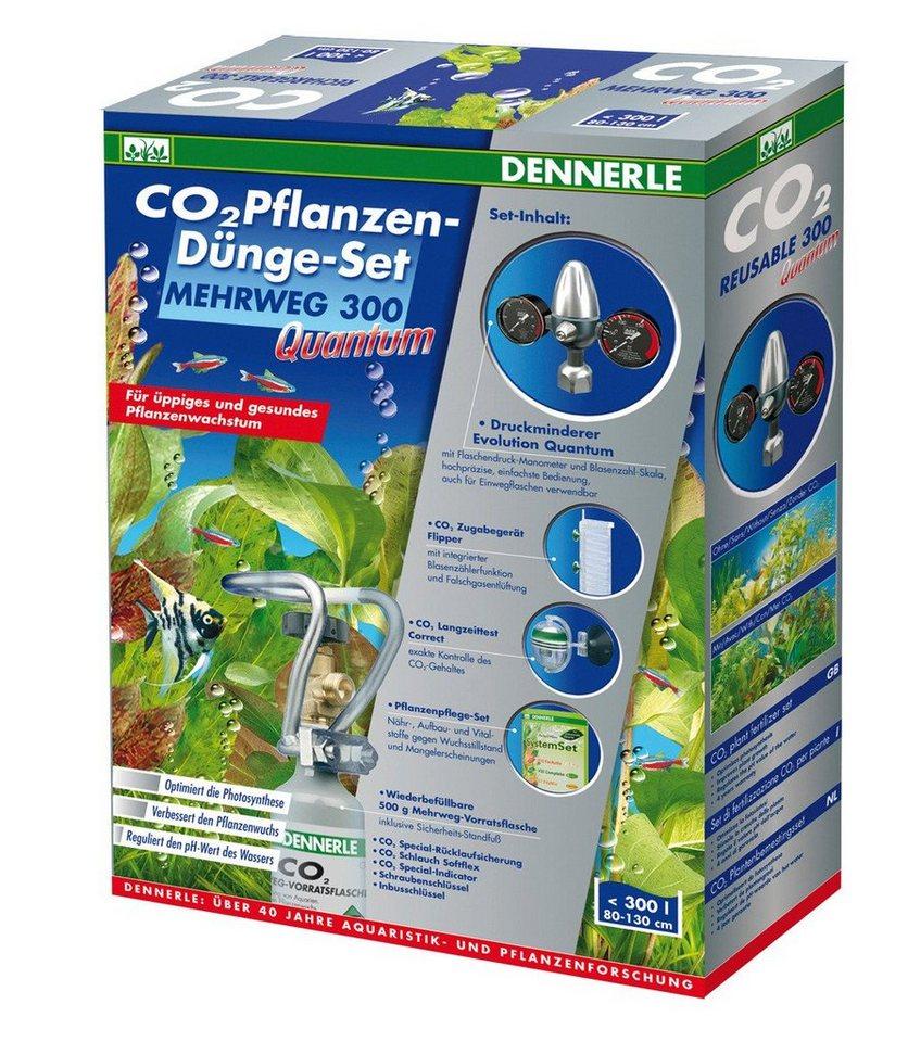 Aquariumpflege »CO2 Pflanzen-Dünge-Set Mehrweg 300 Quantum« in weiß