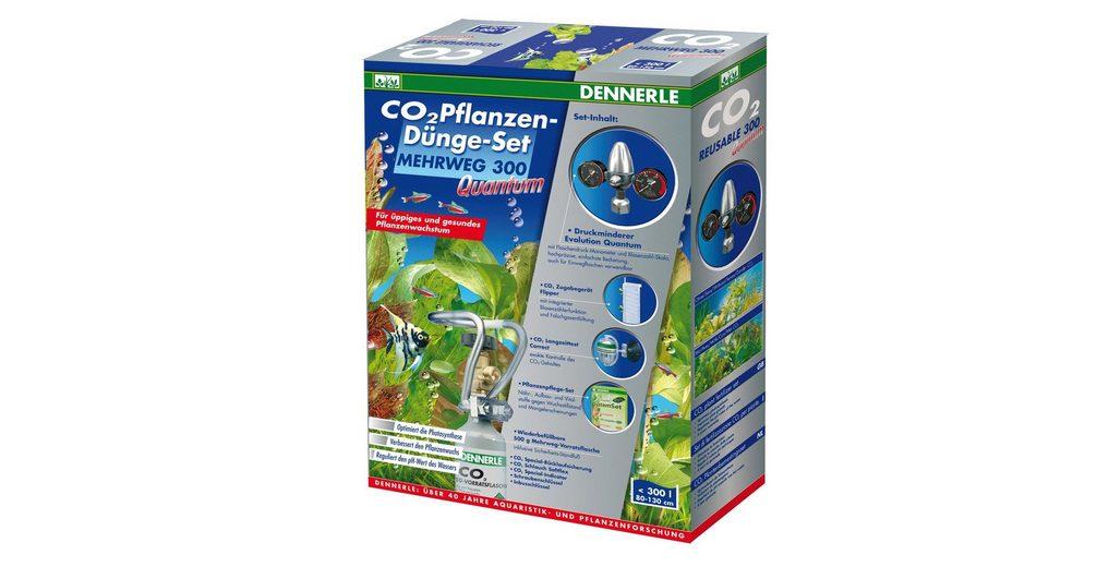 Aquariumpflege »CO2 Pflanzen-Dünge-Set Mehrweg 300 Quantum«