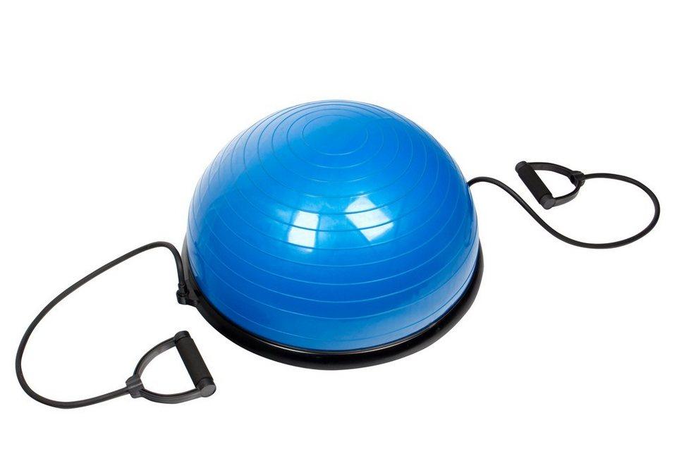 Half Ball mit Zugbändern, »SP-GB-001«, Sportplus in blau-schwarz