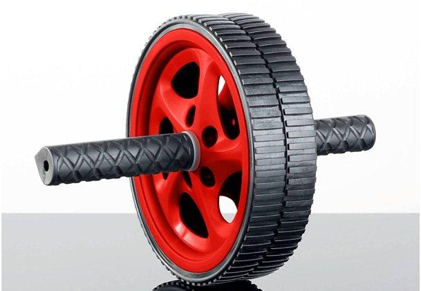 Bauchtrainer AB-Roller, »SP-ALB-012«, Sportplus in schwarz-rot