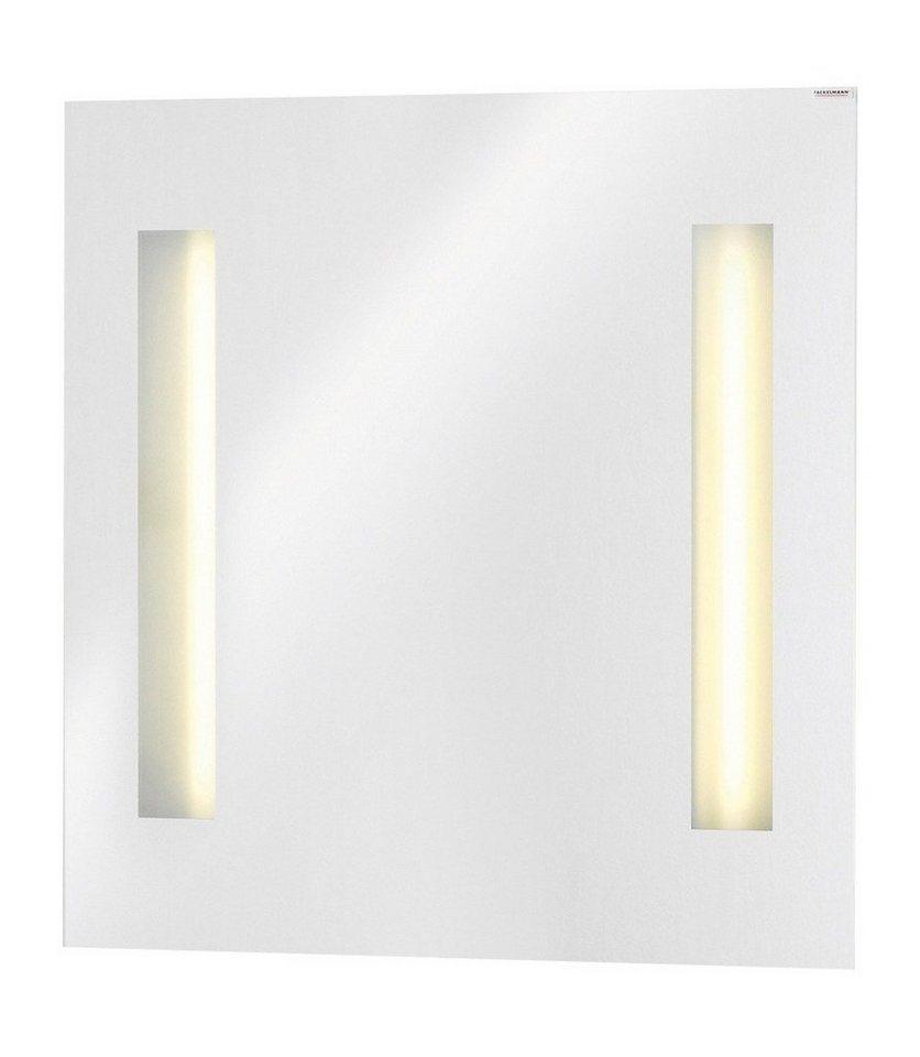 Spiegel / Badspiegel »Kara« Breite 80 cm, mit Beleuchtung in transparent