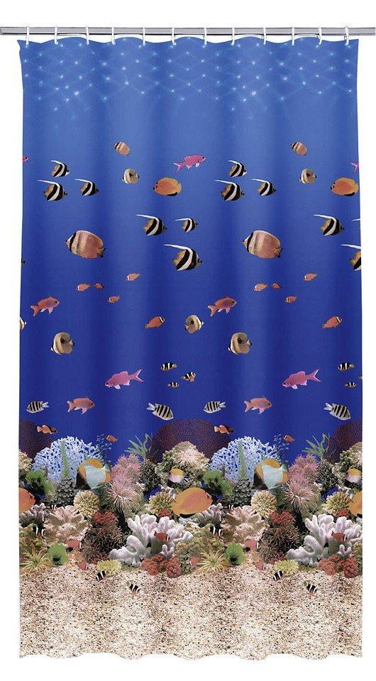 Duschvorhang »Aqua« in blau