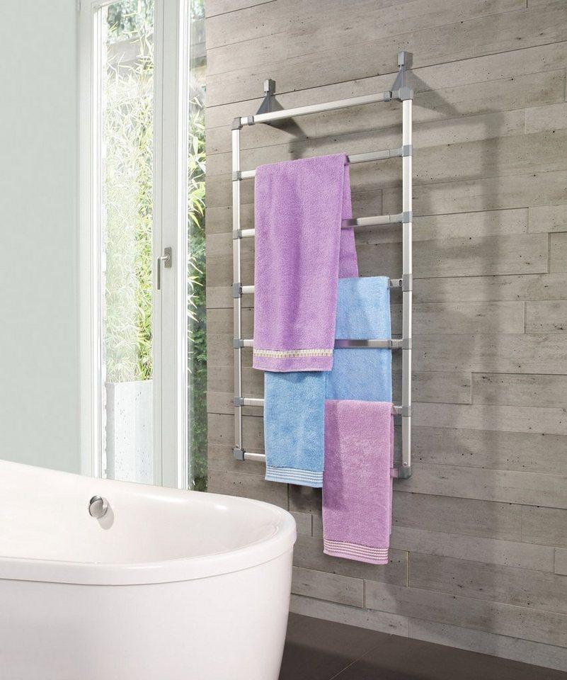 Handtuchhalter »Maxi« in silberfarben