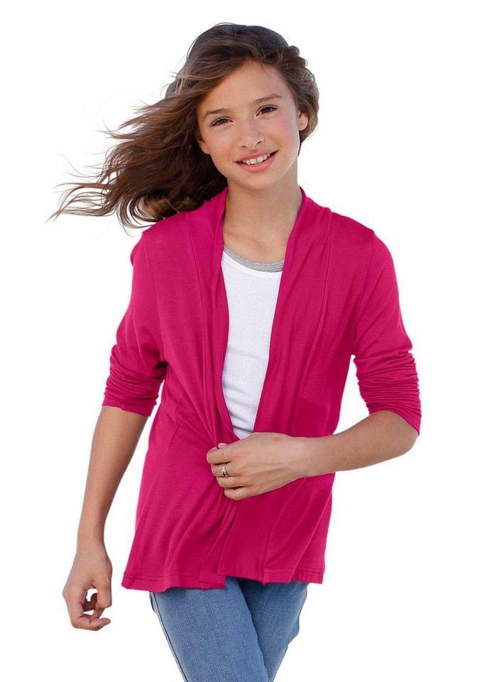CFL Shirtjacke in verschlussloser Form in pink