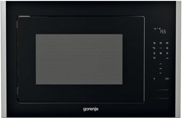 GORENJE Einbau-Mikrowelle BM251S7XG, Mikrowelle, Grill und Heissluft, 25 l