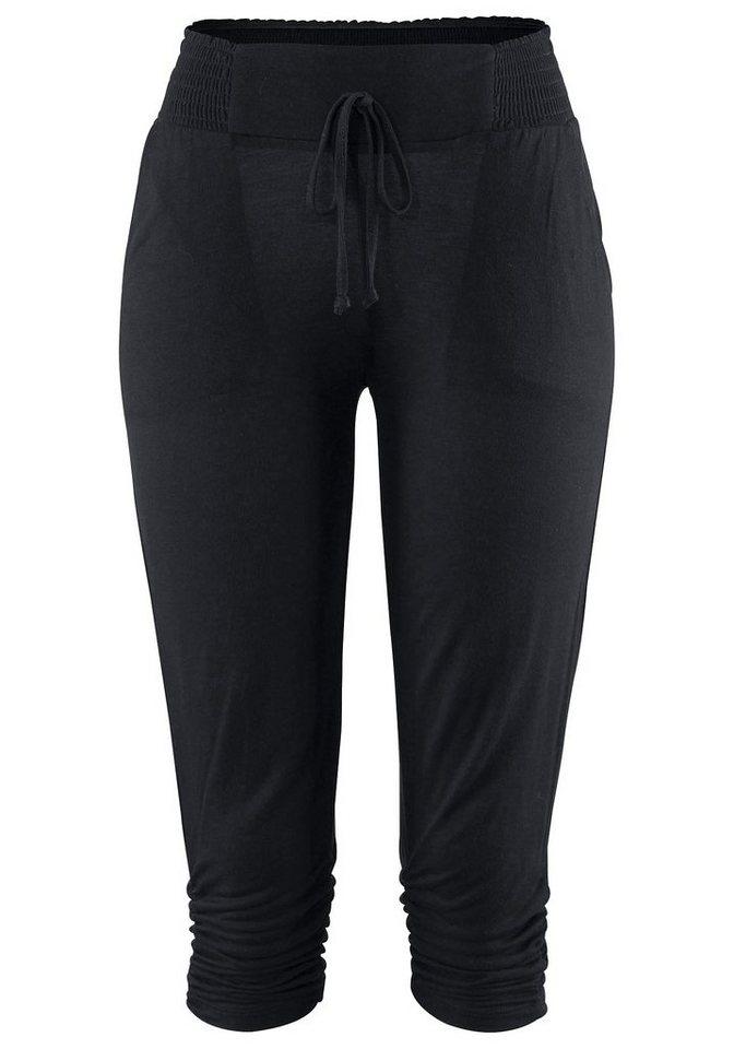 Buffalo London 7/8-Strandhose in schwarz