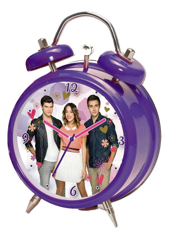 Wecker, »117016«, Disney Violetta in violett