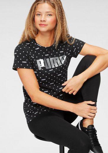 PUMA T-Shirt »Graphic AOP Tee«