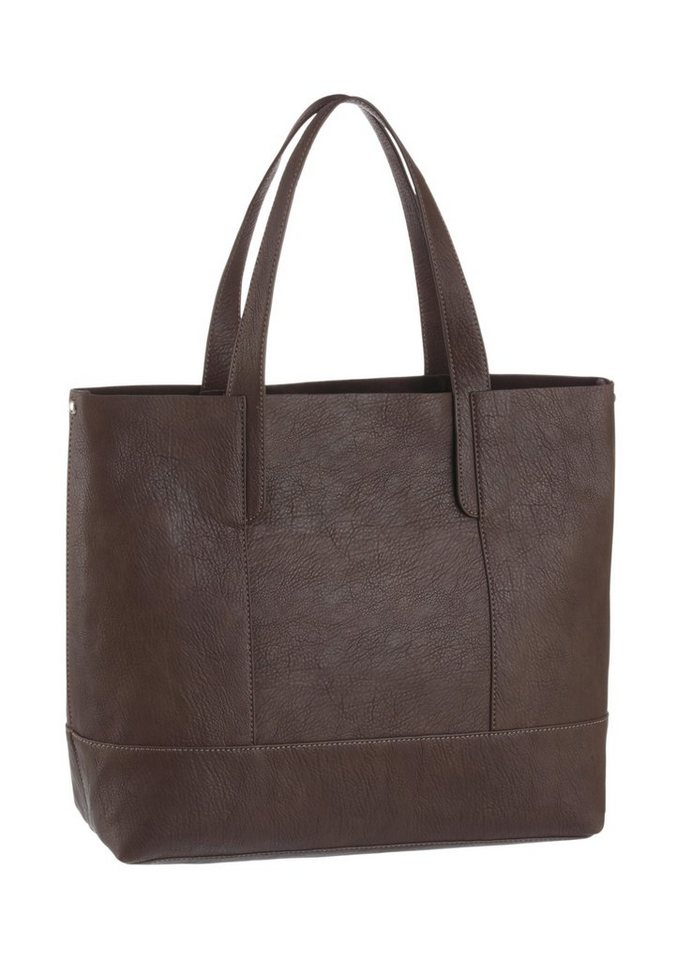 Arizona Shopper mit herausnehmbarer Tasche in dunkelbraun
