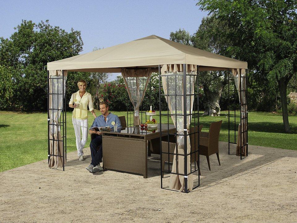 Ersatzdach für Pavillon »Tulpe, sandfarbend« in sandfarben