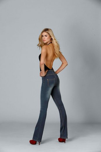 Waist jeans Arizona High »shaping« Bootcut Xw0XqgfZ
