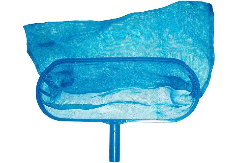 Aufsteck-Bodenkescher in blau
