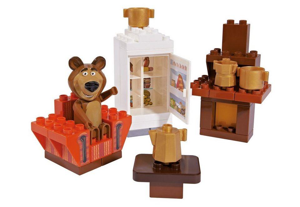 Spielset, »PlayBIG Bloxx Masha and The Bear Bear's Room, BIG (35tlg.)