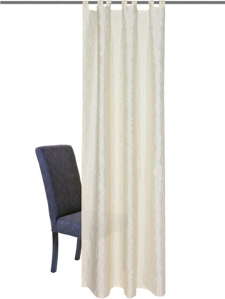 Vorhang, Home Wohnideen, »Anniston« (1 Stück) in creme