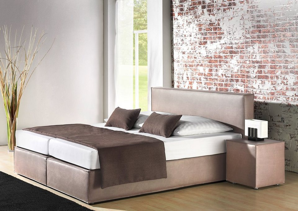 places of style boxspringbett in 3 farben online kaufen otto. Black Bedroom Furniture Sets. Home Design Ideas