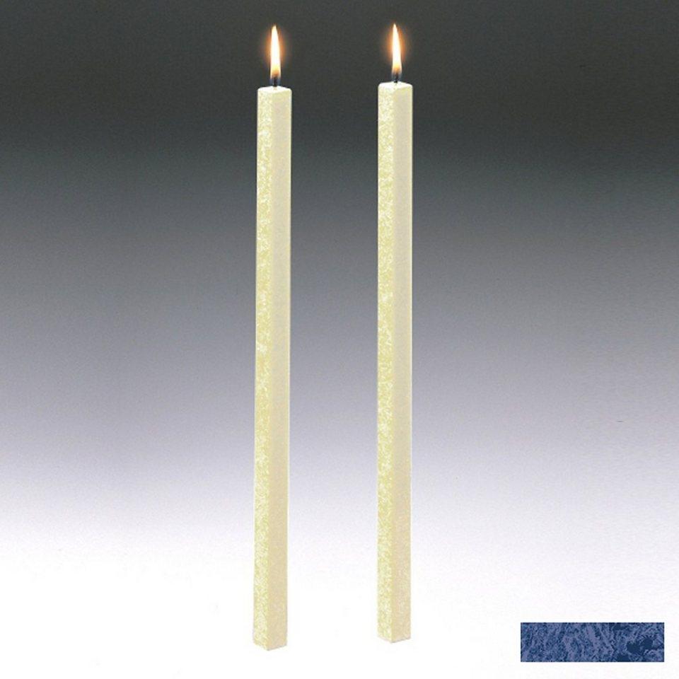 Amabiente Amabiente Kerze CLASSIC Nachtblau 40cm - 2er Set in Nachtblau